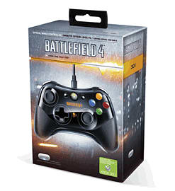 Battlefield 4 Official Wired Controller for Xbox 360 Accessories
