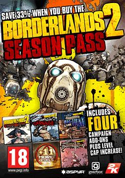 Borderlands 2 Season Pass (Mac) Mac