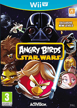 Angry Birds Star Wars Wii U Cover Art