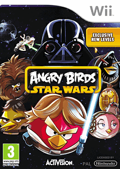 Angry Birds Star Wars Wii Cover Art