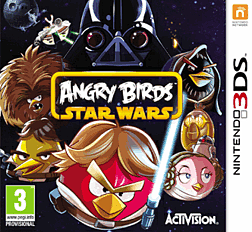 Angry Birds Star Wars 3DS Cover Art