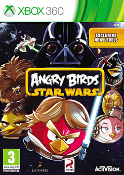 Angry Birds Star Wars Xbox 360 Cover Art
