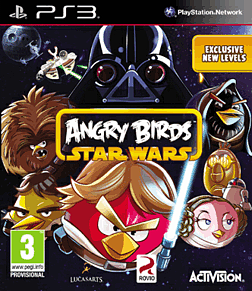 Angry Birds Star Wars PlayStation 3 Cover Art