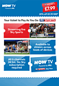 SKY Sports NOW TV 24 Hour Football Pass Now TV