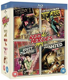 Reel Heroes Box Set (Hellboy 2, Wanted, Scott Pilgrim, Kick-Ass) Blu-Ray