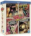 Reel Heroes Box Set (Hellboy 2, Wanted, Scott Pilgrim, Kick-Ass) Blu-Ray