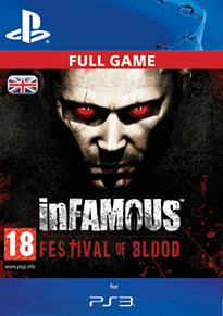 Infamous: Festival of Blood PlayStation Network