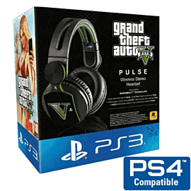 Grand Theft Auto V Pulse Elite - Wireless Stereo Headset - Only at GAME Accessories