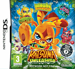 Moshi Monsters: Katsuma Unleashed DSi & DS Lite Cover Art