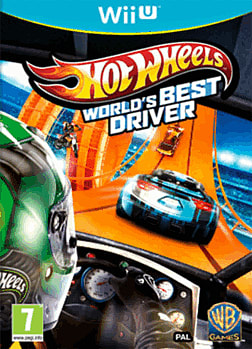 Hot Wheels: World's Best Driver Wii U Cover Art