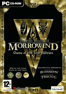 The Elder Scrolls III: Morrowind Game of the Year Edition PC Games Cover Art