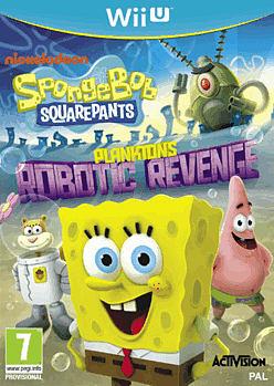 Spongebob Squarepants Planktons Robotic Revenge Wii U Cover Art