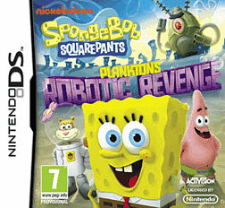Spongebob Squarepants Planktons Robotic Revenge DSi & DS Lite