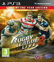Rugby League Live 2 Game of The Year Edition PlayStation 3