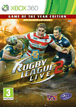 Rugby League Live 2 Game of The Year Edition Xbox 360