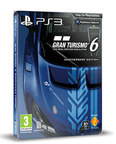 Gran Turismo 6 15th Anniversary Edition PlayStation-3 Cover Art