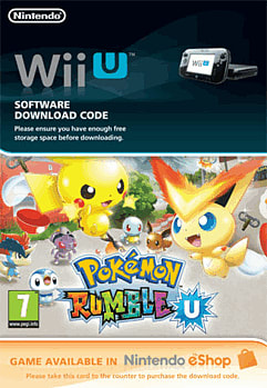 Pokemon Rumble U Wii U Cover Art