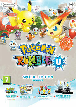 Pokemon Rumble U GAME Exclusive Special Edition Wii U Cover Art