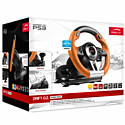 SPEEDLINK Drift O.Z. Racing Wheel for PC/PS3 - Black/Orange Accessories