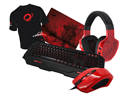 Ozone Pro Gaming Starter Bundle - Red Accessories
