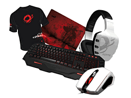 Ozone Pro Gaming Starter Bundle - White Accessories