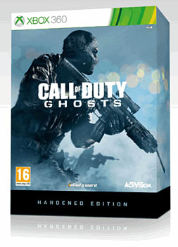 Call of Duty: Ghosts Hardened Edition Xbox-360 Cover Art