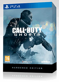Call of Duty: Ghosts Hardened Edition PlayStation 4 Cover Art