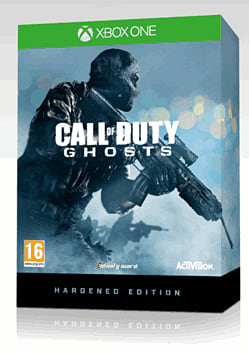 Call of Duty: Ghosts Hardened Edition Xbox One Cover Art