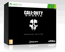 Call of Duty: Ghosts Prestige Edition - Only at GAME Xbox-360 Cover Art