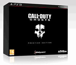 Call of Duty: Ghosts Prestige Edition - Only at GAME PlayStation-3 Cover Art