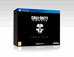 Call of Duty: Ghosts Prestige Edition PlayStation 4 Cover Art