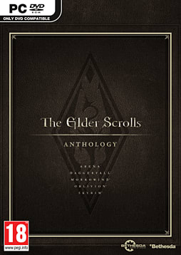 The Elder Scrolls Anthology PC Games Cover Art