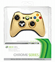 Xbox 360 Wireless Gold Controller Xbox 360