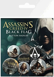 Assassin's Creed 4 Black Flag Badge Pack Accessories