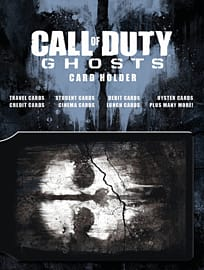 Call of Duty: Ghosts Card Holder Clothing and Merchandise Cover Art