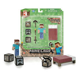Minecraft - Core Player Survival Figure Pack Toys and Gadgets