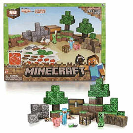 Minecraft Papercraft - Overworld Toys and Gadgets