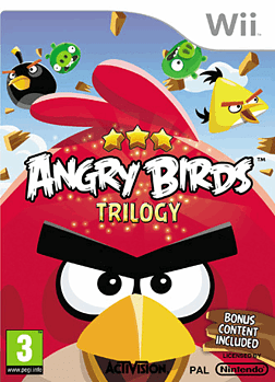 Angry Birds Trilogy Wii Cover Art