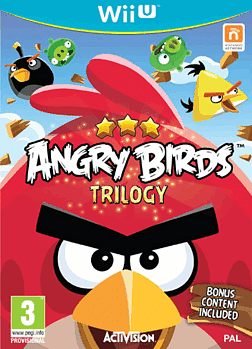 Angry Birds Trilogy Wii U Cover Art