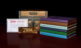 The Legend of Zelda Box Set Strategy Guides and Books Cover Art
