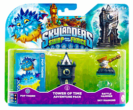 Skylanders SWAP Force Tower of Time Adventure Pack Toys and Gadgets
