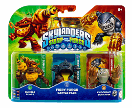 Skylanders SWAP Force Fiery Forge Battle Pack Toys and Gadgets