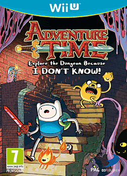 Adventure Time Wii U Cover Art