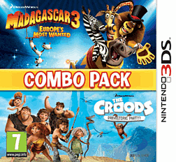 Madagascar 3 and The Croods Double Pack 3DS