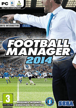 Football Manager 2014 PC Games Cover Art