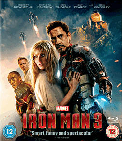 Iron Man 3 Blu-Ray