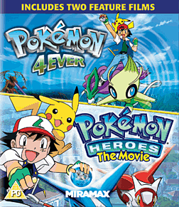 Pokemon Forever and Pokemon Heroes Blu-Ray