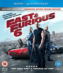 Fast & Furious 6 Blu Ray