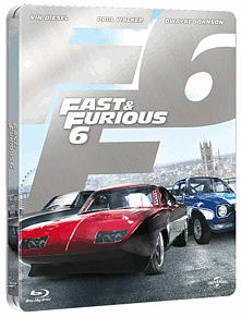 Fast & Furious 6 Steelbook Edition BluRay
