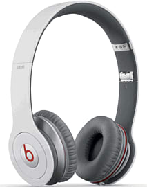 Beats Solo HD On Ear Headphone - White Electronics